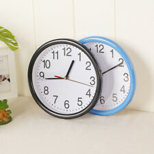 Large Vintage Silent Analogue Round Wall Clock Home Bedroom Kitchen Quartz IN9