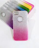 Luxury Glitter Bling  Soft Crystal Phone Case Cover for Apple iPhone X 6 6s 7 8