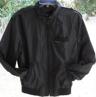 Members Only Vintage Mens Jacket Size 40 GRAY BOMBER STYLE FLIGHT