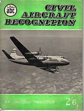 More details for civil aircraft recognition ian allan abc book by j w r taylor 1958 1st edition