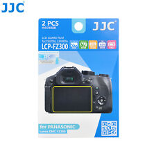 JJC 2PCS LCD Film Screen Protector for Panasonic Lumix DMC-FZ300 G8 G7 GX7 II