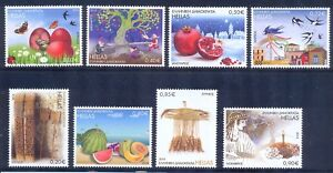 Greece 2014 the Months in Folk Art issue MNH XF.