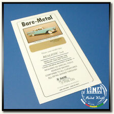 Bare Metal Foil - Chrome (Give model Realistic Look) BMF-001