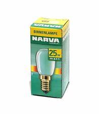 2x Refrigerador Bombilla incandescente Lámpara Mate AB 25w E14 190 Lumen 230v