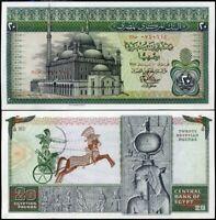 EGYPT 20 POUNDS 1978 P 48 AU-UNC