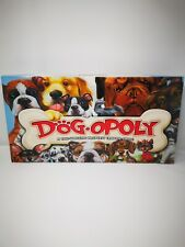 Dogopoly Monopoly Property Board Game Boxed excellent 100% complete condition