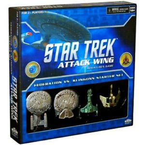 Star Trek: Attack Wing - Federation vs. Klingons Starter Set - New