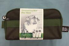 Bulldog Grooming Kit for Men Wash Bag w/ Moisturizer - Face Wash - Shave Gel