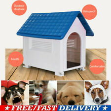 Indoor Outdoor Dog House Medium Pet All Weather Doghouse Puppy Shelter Usa M1