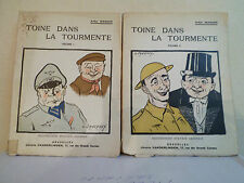 Toine dans la tourmente Vol. 1 & 2 - 1946 - ARTHUR MASSON - 2 photos