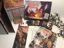 Vintage Dungeons & Dragons DRAGON QUEST Board Game 1100 TSR 1992 RPG D&D Minatur