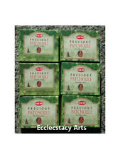 Hem Precious Patchouli Incense Cones BULK 6 Packs of 10, 60 Cones Total NEW