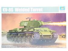 "LOT 12039 | Trumpeter 01568 ""KV-8S Welded Turret"" 1:35 NEU in OVP"
