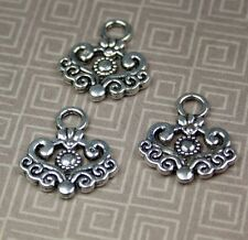 Antique Silver Charm - pack of 10