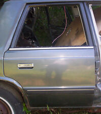 87  PLYMOUTH  RELIANT  RIGHT   REAR   DOOR   SHELL --Check This Out!--