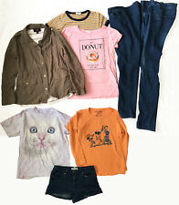 Nice 8 Pc Lot Girls Clothing Forever 21 Disney Sz 13/14 L 14 Jacket Tees Jeans