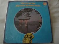 The Art of the Japanese Bamboo Flute VINYL LP ALBUM 1975 OLYMPIC RECORDS EX