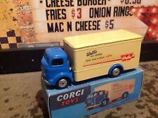 Corgi 453 walls ice cream van commer refrigerator respray with  repro box