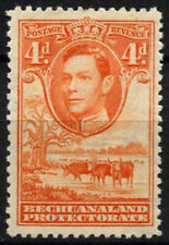 Mint Hinged British Protectorate Postage Stamps