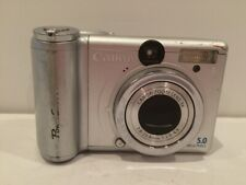 Canon PowerShot A95 5MP Digital Camera PC1099 Silver TESTED