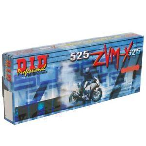 DID x-Ring G&g 525 ZVMX /110 Chain Closed Kawasaki 750 ZX7R Ninja 1996-2002