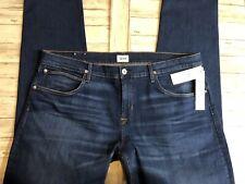 NWT 185$ Hudson Jeans Men's Blake Slim Straight  Sz 42x34 Medium Wash Denim N20