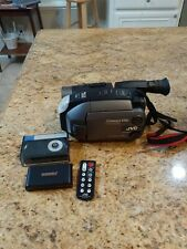 Jvc compact vhs camcorder/ LCD Color /5 Head System/ Fast Shipping!Works Great!!