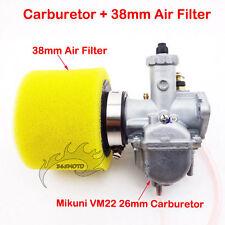 Mikuni VM22 Carby 26mm Carburetor Air Filter For 110cc 125cc 140cc Pit Dirt Bike