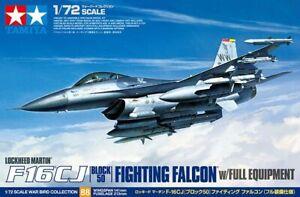 Tamiya 60788 1/72 Lockheed Martin F-16 CJ Block 50 Fighting Falcon w/Equipment