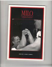 MILO strongman powerlifting weightlifting muscle journal/Arm Wrestling 3-05