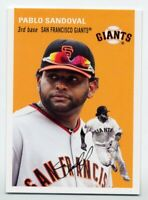 1954 Topps PABLO SANDOVAL Rare BASE CARD #12 San Francisco Giants -2012 Archives