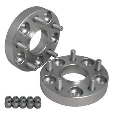 "2PC Hub Centric 1"" (25mm) Wheel Adapter Spacers 5x100 for tC xD Corolla Camry"