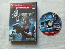 Resident Evil 4 (Sony PlayStation 2, 2005) PS2 Video Game (CIB)