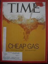 TIME MAGAZINE FEBRUARY 2 2015 CHEAP GAS HOW LONG WILL IT GO  KEPT LIKE NEW