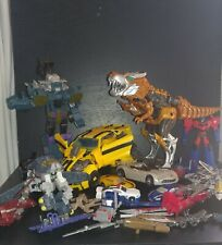 Large Transformers Lot Dino - Autobots - Decepticons Cars - Trucks - Plane -...