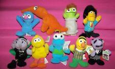 Lot of 9 Kellogg's Cereal Premium - Mini Bean Toys - Sesame Street Toys