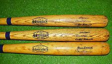 Harold Baines Little League Baseball Bat Lot (3) Adirondack Pro Ring Whitesox