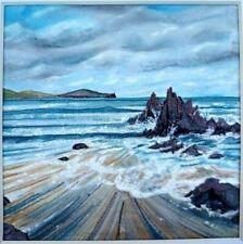 Spring tide at Crawfordsburn, original artwork
