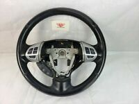 2017 Mitsubishi Lancer Steering Wheel Black Leather OEM