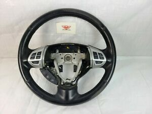 2017 Mitsubishi Lancer Steering Wheel Black Leather OEM