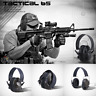 Hearing Protection Electronic Headphones Ear Muffs Noise Shooter Shooting Safety