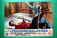 T06 Fotobusta El Preso Por Zenda Stewart Granger James Mason Deborah Kerr