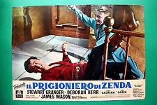 T06 FOTOBUSTA IL PRIGIONIERO DI ZENDA STEWART GRANGER JAMES MASON DEBORAH KERR