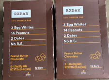 24 RXBARS RX Protein Bars Peanut Butter Chocolate