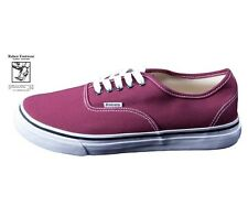 RABEN Canvas Classic Lace Up Burgundy