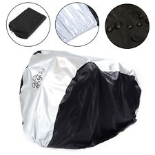 Waterproof Bicycle Cover Bike Sun Rain Dust Protector Garage Outdoor for 2 bikes