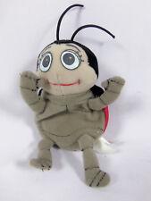 "Applause Disney Pixar Plush Beanie Bugs Life 6"" Francis The Ladybug"