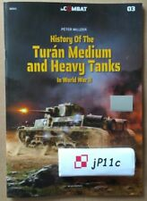 *History of the Turán medium and heavy tanks in WW2 - in COMBAT Kagero *N*E*W*