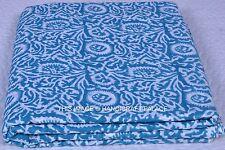 2½ Yards Cotton Floral Hand Block Print Fabric Sanganeri Printed Dressmaking Art