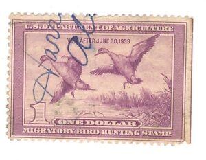 Scott RW 5 Federal Duck Stamp